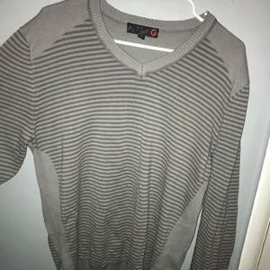 Mens Guess XL Grey sweater